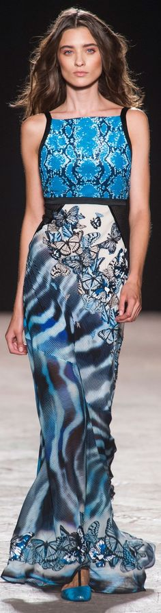 Angelo Marani at MFW Spring 2014.    The House of Beccaria ~