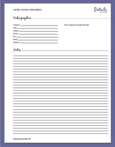 wedding planning templates