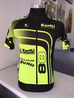 Custom made cycle jersey