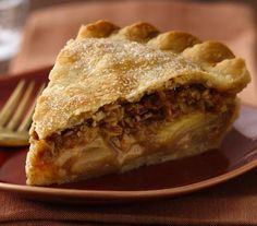 A creamy filling surrounds cooked pears and apples in this delicious pie that was the blue-ribbon winner at the Wisconsin State Fair in 2010.
