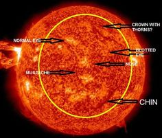 A recently captured image from the Sun showing the Powerful Flare around 17:45 GMT on April 16, 2012. This shot was taken by NASA spacecraft revealing a familiar face of the MAN.  This photo was copied, re-edited and republished by an unkonown author. In whatever reason there is, He has showed us his Love, Passion, and Sacrifices for us people to realize that He is always There with us. Whatever matter that shows His image only implicates that He want us to remember His undying LOVE for…
