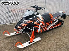 Rob Kincaid's Arctic Cat M8000 Mod Sled. Supercharged, wrapped and ready to ride!