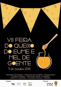 VII #FEIRA  DO #QUEIXO  DO EUME O MEL DE GOENTE EN AS PONTES DE GARCÍA RODRÍGUEZ. Nueva edición de la #FeiradoQueixo do #Eume  e #Mel de #Goente que se celebrará en la propia parroquia de Goente, en el municipio de #AsPontesdeGarcíaRodríguez  , el próximo 11 de Octubre. Los asistentes podrán degustar y adquirir la deliciosa #Miel y el exquisito #Queso de Goente, visitar una exposición de #motos y #cochesclásicos un taller de #cestería etc. #ViajesTuriplanet
