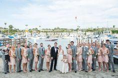 groom in tux, guys in suits