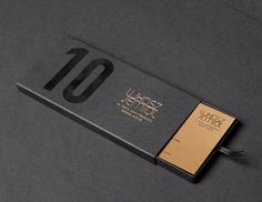 10th anniversary / invitation on Behance