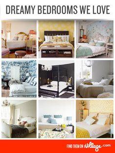 45 Beautiful Bedroom Decorating Ideas. #homedecor #bedroom http://www.ivillage.com/bedroom-decor-ideas/7-b-257106#257106?cid=pin|homedecor|bedrooms|11-19-12