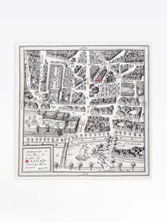 carré Rue du Jour en soie | agnès b. Leather Box, Dark Brown Leather, Rain Hat, Paris Map, Square Scarf, Zebra Print, Rue, Womens Scarves, Finding Yourself