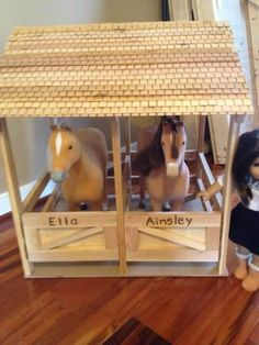 American Girl Doll Horse Stable | Do It Yourself Home Projects from Ana White