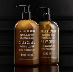Soap & Lotion Collection - Italian Leather