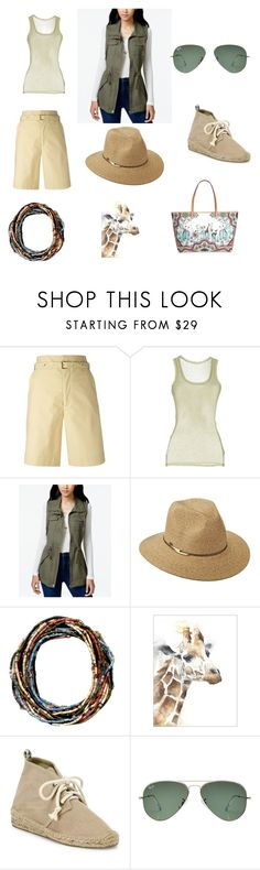 """""""Safari"""" by tancho-cts on Polyvore featuring мода, Isabel Marant, American Vintage, American Rag Cie, Scala, Soludos, Ray-Ban и Etro"""