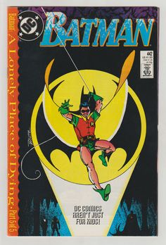 Batman Vol 1 442 Comic Book. NM. December by RubbersuitStudios #comicbooks #batman #timdrake