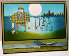 Timber - MZ by Zindorf - Cards and Paper Crafts at Splitcoaststampers