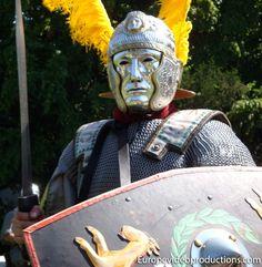 Días romanos en Tréveris en Mosela en Alemania