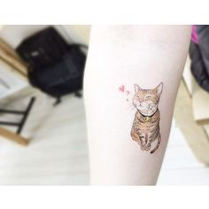 : Cat  Color version . #tattooistbanul #tattoo #tattooing #drawing #cat #cattattoo #design #tattoomagazine  #tattooartist #tattoostagram #tattooart #inkstinctsubmission #tattooinkspiration #타투이스트바늘 #타투 #고양이 #고양이타투 #그림
