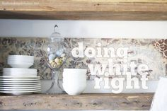 • Benjamin Moore's Chantilly Lace {of course-that's the whites you see everywhere in my home} • Benjamin Moore's Simply White • Behr's Irish Mist {a very light grey that reads as white on the walls} • Benjamin Moore's Dove White • Benjamin Moore's China White