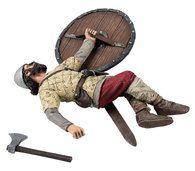 W Britain 62122 Overwhelmed Viking Striking Downed Saxon