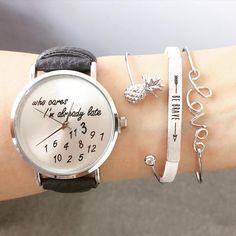 """""""Apaixonada pelos acessórios da @shopebbo  Sigam e confiram!  How pretty!! Tag your friends and get your friendship watch and jewelry from @shopebbo…"""""""