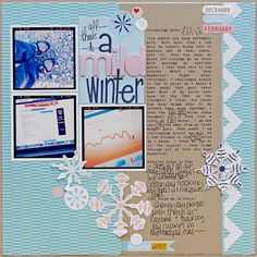 Love this collection from Bella Blvd...feel free to send me some if you are sick of yours :) I love all of the journaling on this layo!ut