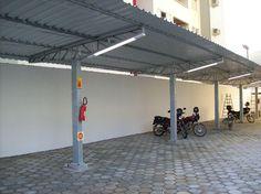 Pergola In Front Of Garage Refferal: 5561262835 Car Canopy, Carport Canopy, Pergola Carport, Curved Pergola, Pergola Swing, Pergola With Roof, Outdoor Pergola, Pergola Plans, Pergola Ideas