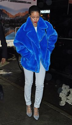 WHO: Rihanna WHERE: On the street, New York City WHEN: December 23, 2014