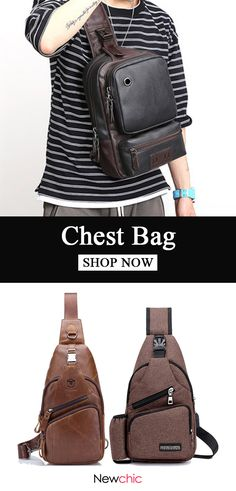 Shop Newchic.com to buy your favorite chest bags now.  mens  style  bags 244a04b5773ca