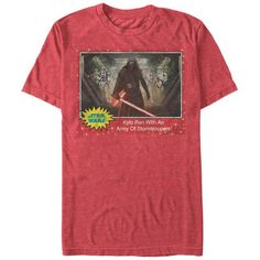 35766f7d Star Wars The Force Awakens- Kylo Ren Army Trading Card Movies T-Shirt  Sweater