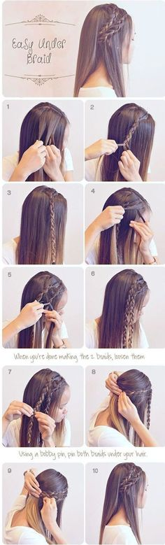 Easy Hairstyles For School (39)