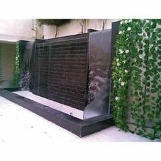 Wall Fountain Outdoor water wall features for patios | water features and accessories