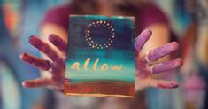 """Allow"" Mini brave intuitive painting by Flora Bowley. Flora Bowley, Mini Paintings, Peru, New Art, Sick, Bloom, Photo And Video, Inspiration, Pilots"