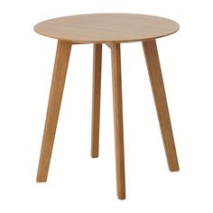 IKEA - ФИНЕДЕ, Придиванный столик, Легко собирается.Бамбук – простой в уходе прочный натуральный материал.Компактная упаковка – удобно отвезти домой на автобусе или метро.
