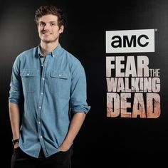 Daniel Sharman promoting FTWD in Madrid, Spain.