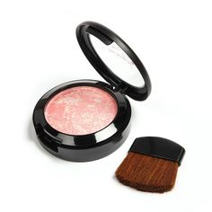 7 Colors Makeup Baked Blush Palette Interlayer With Mirror Brush Blusher Colorete Bronzer Sleek Cosmetic Shadows