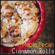 Recipe: Maple Pecan Cinnamon Rolls