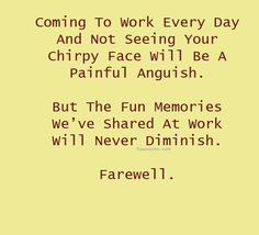 Farewell quotes to a colleague