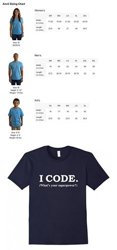 Men's Funny I Code Whats Your Superpower Programmer Nerd T-Shirt Medium Navy