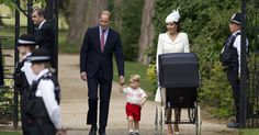 Check out this gallery from USA TODAY:  Royal Christening of Princess Charlotte  http://usat.ly/1M4xjIE