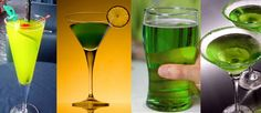 St. Patrick's Day Cocktails (recipes)...