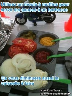 Condiment Caddy, Good Food, Yummy Food, Awesome Food, Awesome Stuff, Festa Party, Food Hacks, Snack Hacks, Cooking Tips