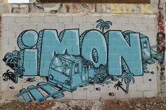 Imon auf Zug - Spanien 2014