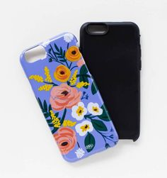 Rifle paper collection of 12 floral iPhone cases | floral tech accessories for Mother's Day