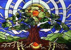 Art Nouveau and Art Deco Stained Glass Patterns