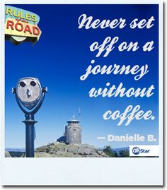 And if you do forget the coffee, push your blue button and an OnStar Advisor can help you find a coffee shop.