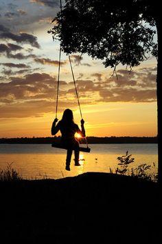Push Me Higher On Pinterest Swings Tree Swings And