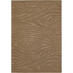 @Overstock - Add a classy look to any living area with this hand-tufted New Zealand wool rug. This rug features a viscose wood grain design in shades of brown.http://www.overstock.com/Home-Garden/Hand-tufted-Cosmose-Brown-Wool-Rug-79-x-106/4870202/product.html?CID=214117 $426.69