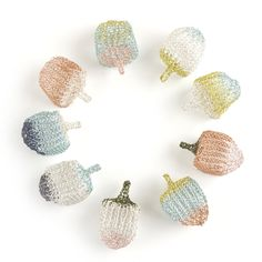 """2017 unique Dreidels collection is here, I know its hard to believe but they spin beautifully! My original Dreidels are handmade in a rare wire crochet technique that combines wire crochet and knitting, or as I call it- ISK - The Invisible Spool Knitting. The Dreidel dimensions are: 0.78"""" x 0.78"""" x 1.5"""" inch or 2cm x 2cm 4cm The wires I use are durable coated copper wires. The Dreidel is available in various colors, leave a note with your custom request on checkout, your dreidel will be packed i Spool Knitting, Wire Crochet, Diy Tutorial, Spinning, Copper, Crafty, Note, Colors, Unique"""