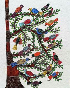 Pichwai Paintings, Indian Art Paintings, Indian Folk Art, Indian Ethnic, Kalamkari Painting, Flower Painting Canvas, Perspective Art, Madhubani Art, Madhubani Painting