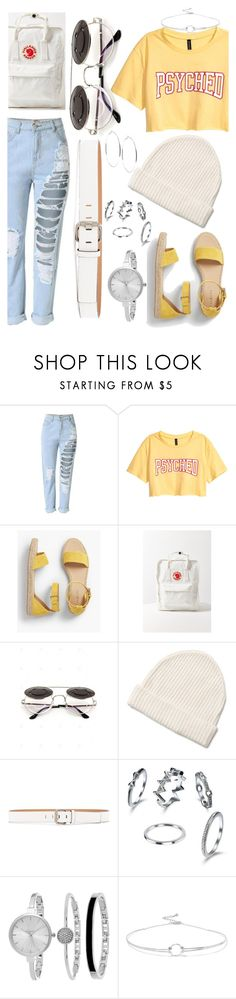 """Just a feeling"" by faaliyah49 on Polyvore featuring Talbots, Fjällräven, Calvin Klein Jeans, SO & CO, Noir Jewelry and GUESS"