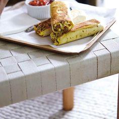 Burrito déjeuner   Ricardo Burritos, Brunch, Smoothies, Sandwiches, Yummy Food, Snacks, Breakfast, Recipes, Pizza