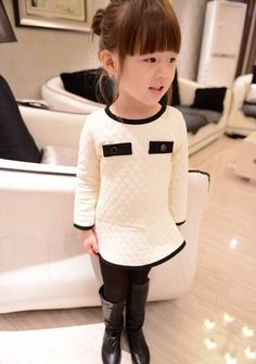 Find More Dresses Information about Peppa Freeshipping Button Regular Geometric Frozen Elsa Dress 2014 Fashion And Style Girls Brand Long sleeved Bottoming Dress,High Quality sweater style,China sweater cashmere Suppliers, Cheap sweater cape from Running snail children store on Aliexpress.com