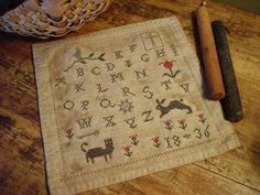 Primitive Cross Stitch